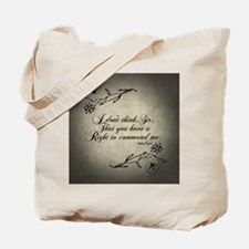 right-to-command-me_b Tote Bag