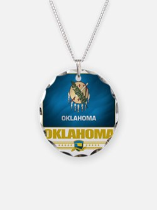 Oklahoma (Flag 10) Necklace