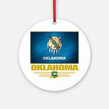 Oklahoma (Flag 10) Round Ornament