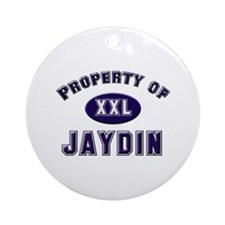 Property of jaydin Ornament (Round)