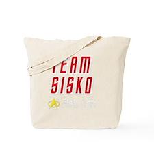 Star Trek Team Sisko White Tote Bag