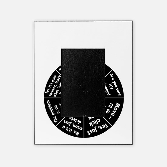 IT Response Wheel Picture Frame
