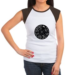IT Response Wheel Women's Cap Sleeve T-Shirt