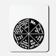 IT Response Wheel Mousepad