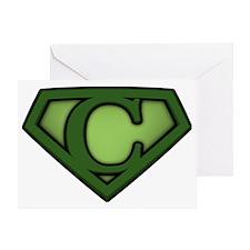 Super green c Greeting Card