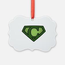 Super green c Ornament