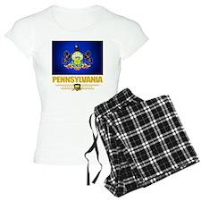 Pennsylvania (Flag 10) Pajamas