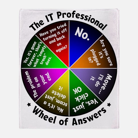 The IT Professional Throw Blanket