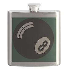8-ball-toony-OV Flask