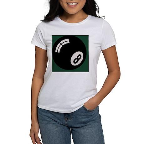 8-ball-toony-TIL Women's T-Shirt