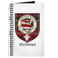 MacDougal Clan Crest Tartan Journal