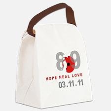 Japan Earthquake 4 Canvas Lunch Bag