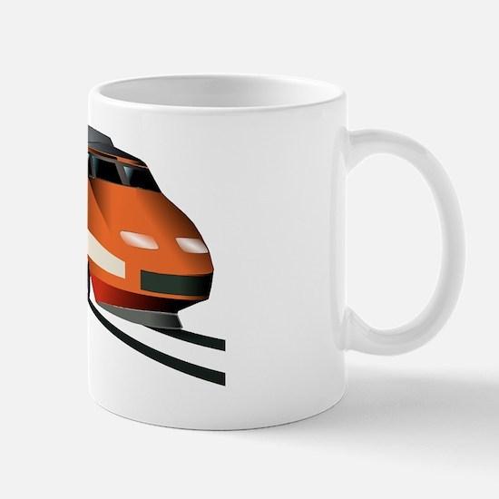 Fast Train Mug