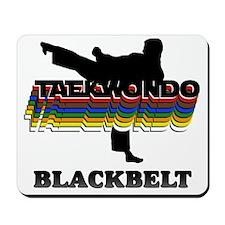TKD-BlackBelt-Colors Mousepad