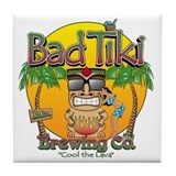 Brewery bad tiki Tile Coasters