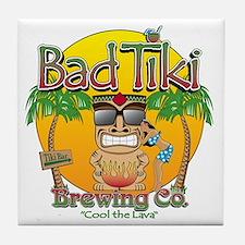 Bad Tiki - Revised Tile Coaster