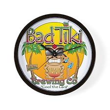 Bad Tiki - Revised Wall Clock