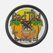 Bad Tiki - Revised Large Wall Clock