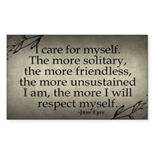 i-care-for-myself_9x18 Decal