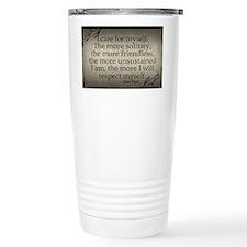 i-care-for-myself_9x18 Thermos Mug