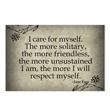 i-care-for-myself_sb Postcards (Package of 8)