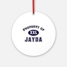 Property of jayda Ornament (Round)