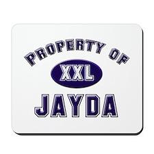 Property of jayda Mousepad