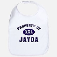 Property of jayda Bib
