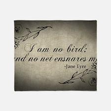 no-net-ensnares-me_12x18 Throw Blanket