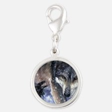 The Messenger Silver Round Charm