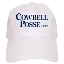 Cowbell_Posse_Logo_Stacked_com_rev Baseball Cap