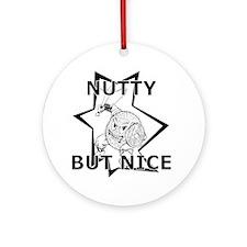 GTBNutty Round Ornament