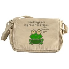 frog-plague Messenger Bag