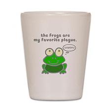 frog-plague Shot Glass