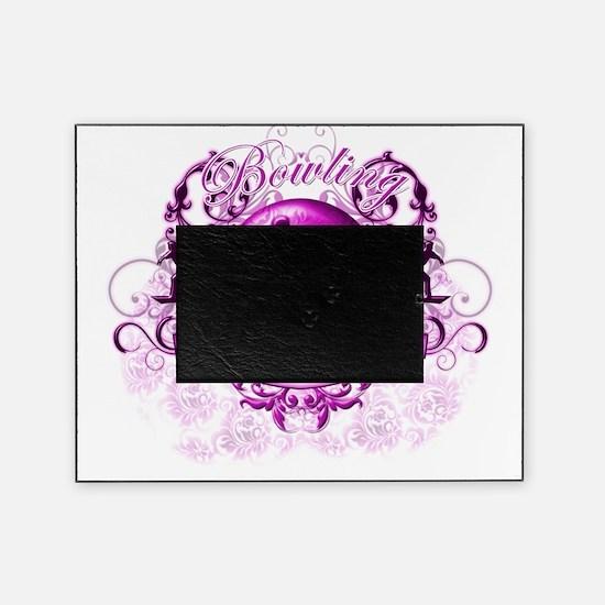 BowlingGrandma (pink) Picture Frame