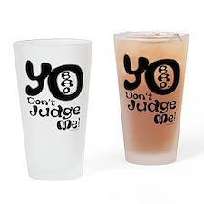 yo copy Drinking Glass