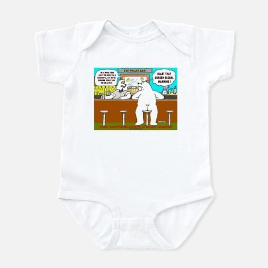AT THE POLAR BAR Infant Bodysuit