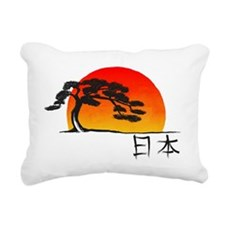 Japan-banzai Rectangular Canvas Pillow