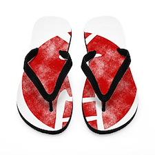 japan-sun-w Flip Flops