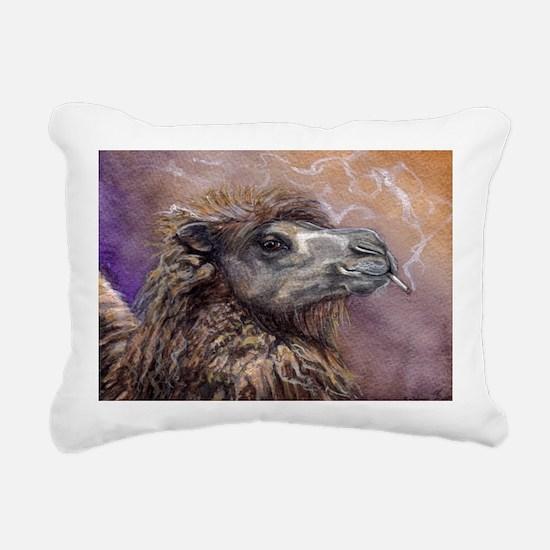 Smokin Saffron Rectangular Canvas Pillow