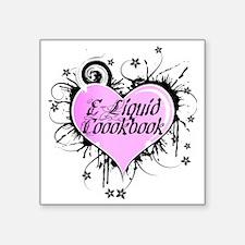"""eliquidcookbook Square Sticker 3"""" x 3"""""""