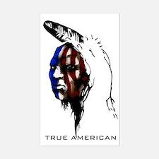 american1 Sticker (Rectangle)