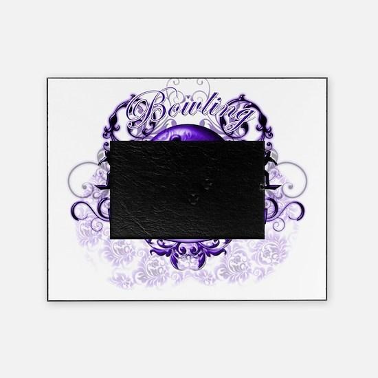 BowlingGrandma (purple) Picture Frame