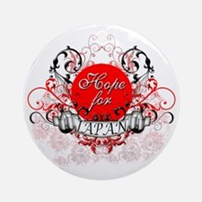 Hope for Japan copy Round Ornament
