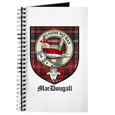 MacDougall Clan Crest Tartan Journal