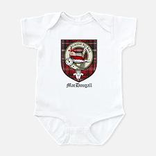 MacDougall Clan Crest Tartan Infant Bodysuit