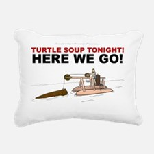 Shelby Swamp Logging Rectangular Canvas Pillow