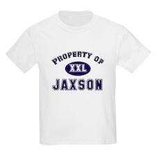 Property of jaxson Kids T-Shirt