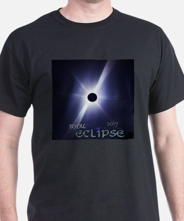 2017 Total Eclipse - Real Photo T-Shirt