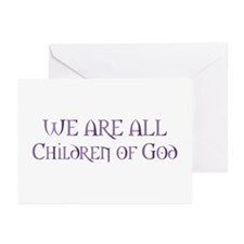 Children of God Greeting Cards (Pk of 10)